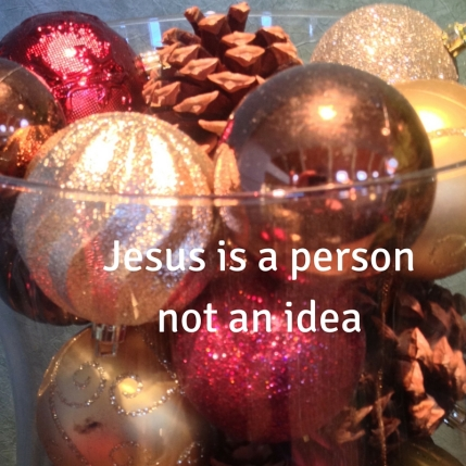 Jesus is a person